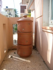 home-composting bins at my home